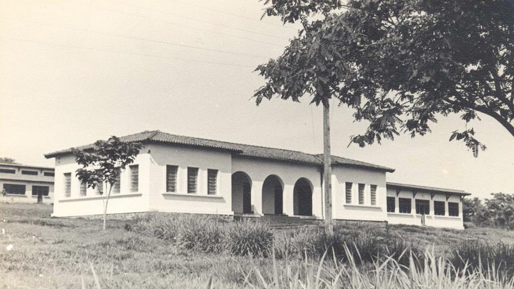 Casa e primeira sede do Departamento de Clínica Médica no campus da USP em Ribeirão Preto.